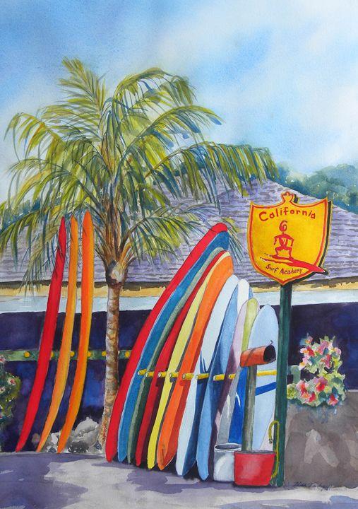 Surf's Up - Hilda Vandergriff