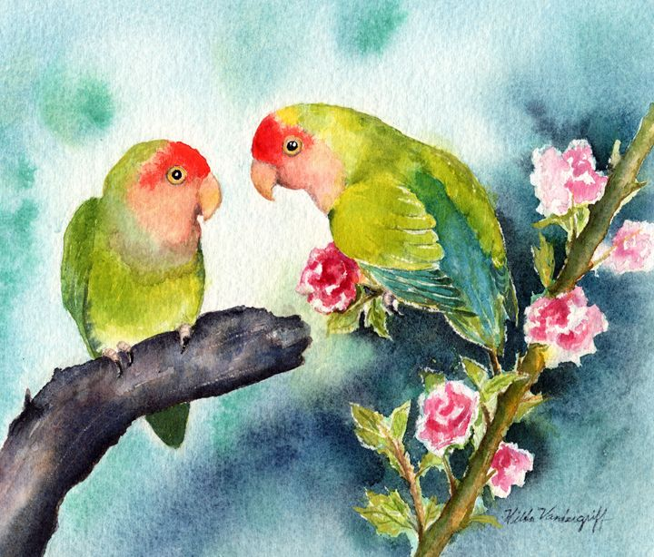 Love Birds - Hilda Vandergriff