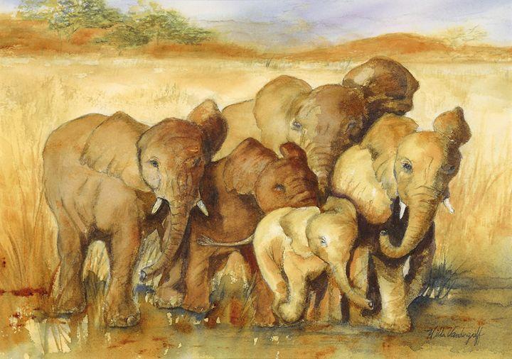 Baby Elephant - Hilda Vandergriff