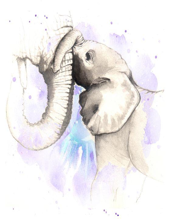 Baby Elephant - Little Princess