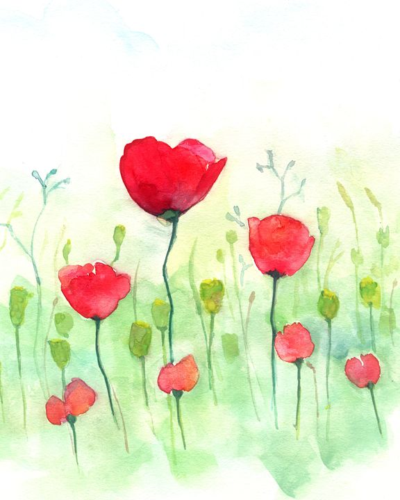 Red Flower - Little Princess