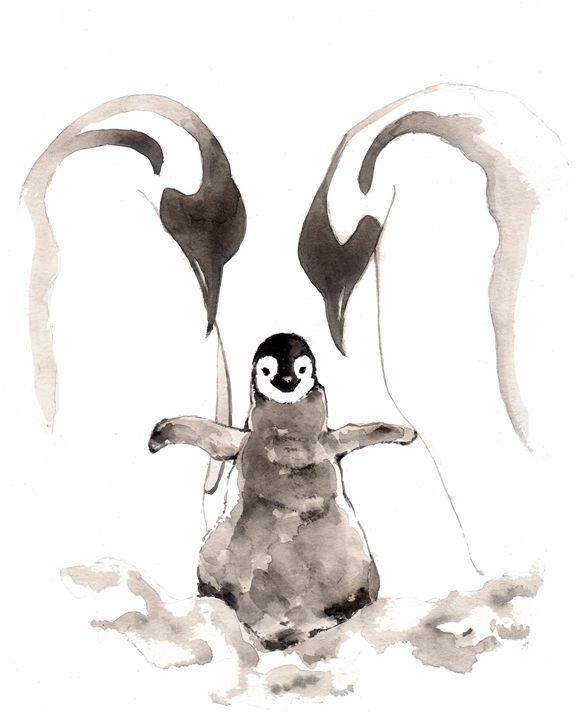 Penguin Family II - Little Princess