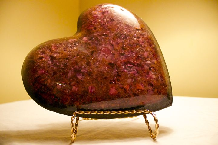 "Orgone Energy Device ""Crystal Heart"" - OrgoKnights"
