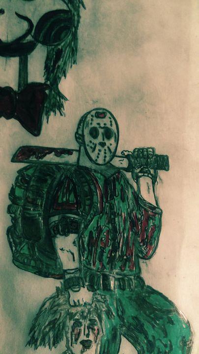 Hockey mask commando - DUFLOG ART