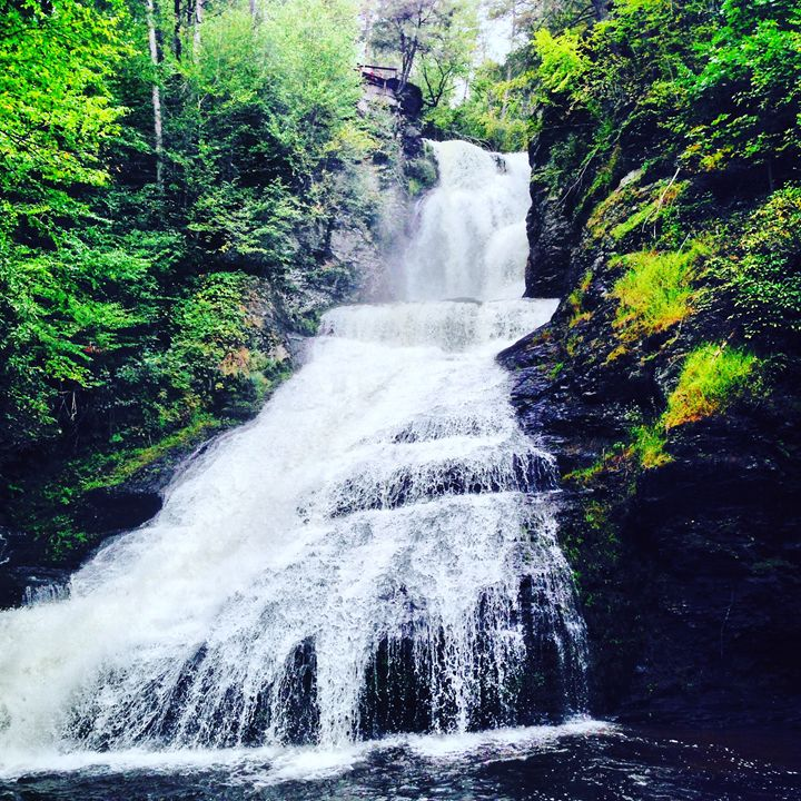 Dingmans falls - North Woods Photography