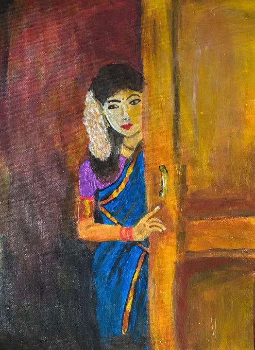 Indian village Girl - meenakart