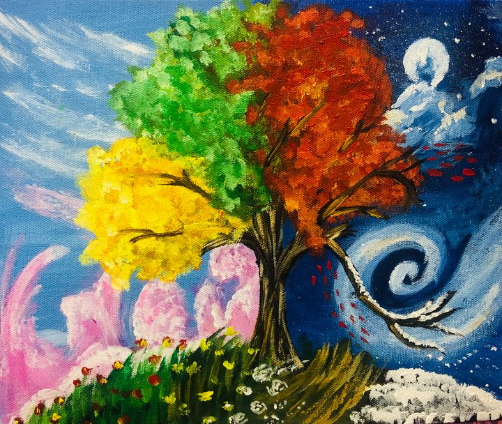 Seasons Tree - meenakart