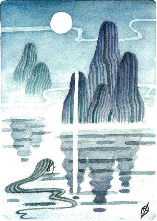 Islands In The Mist - Moss Moon Studio