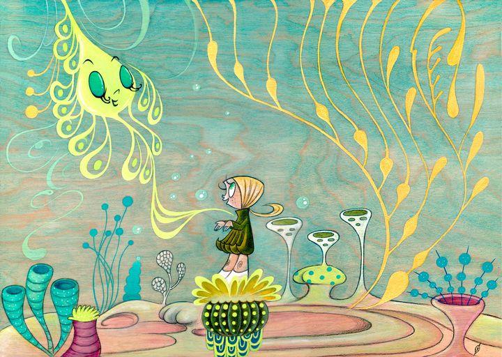 The Sea Spirit - Moss Moon Studio