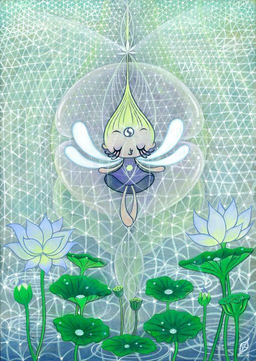 Indra's Net of Jewels - Moss Moon Studio