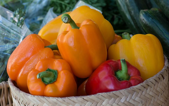 Sweet Bell Peppers - Michael Moriarty Photography