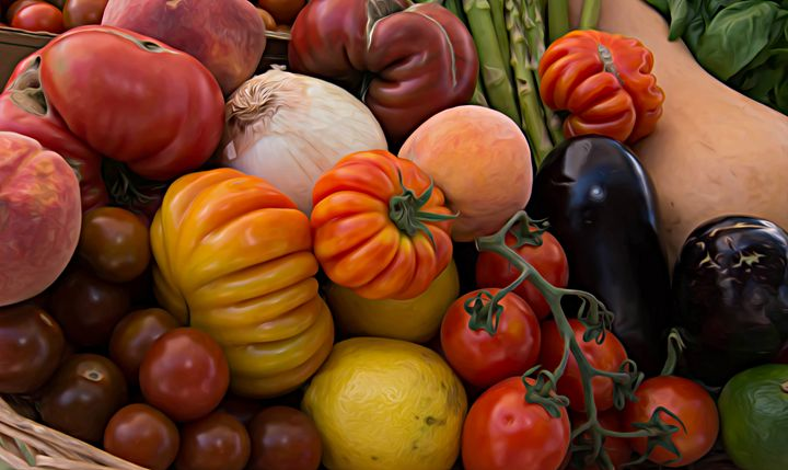 Heirloom Tomatoes - Michael Moriarty Photography