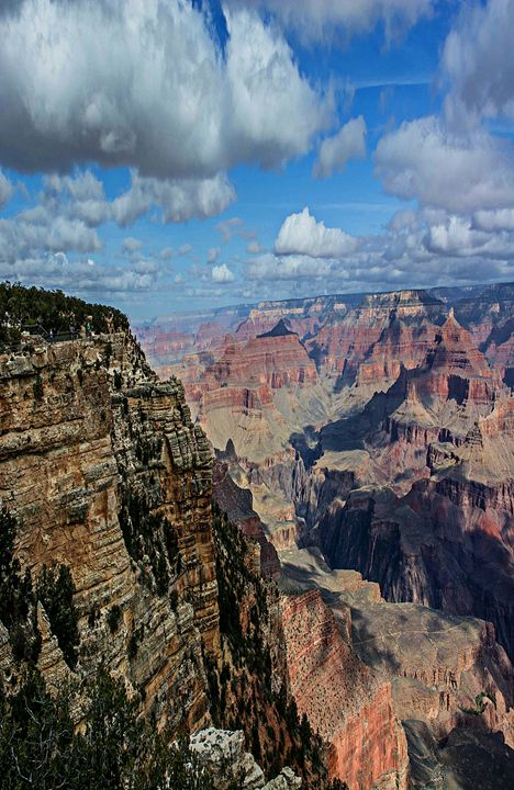 Grand Canyon Overlook - Michael Moriarty Photography