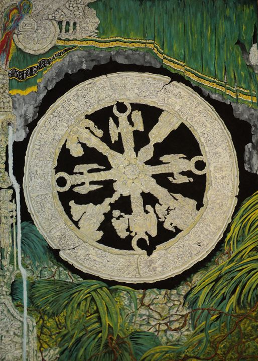 The mayan wheel - rexalanii