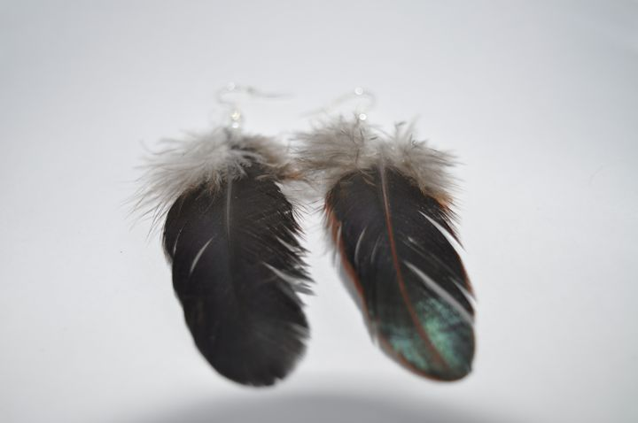 Feather Earrings - Fledgling Creations