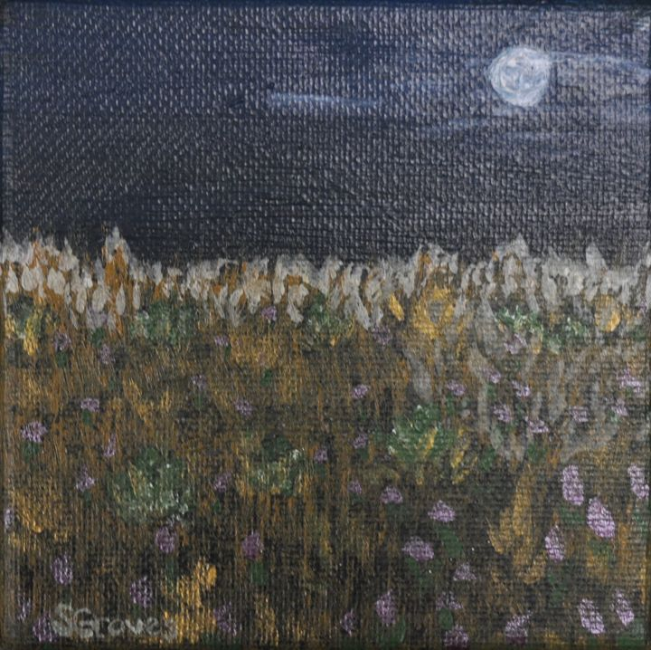 Full Moon at Harvest - Fledgling Creations