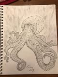 Octopus- Charcoal