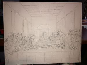 The Last Supper (stage 1)