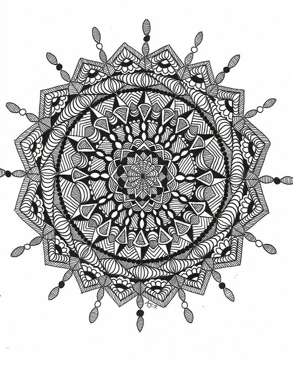 Mandala - Ink'd by A