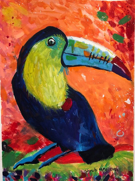 Colorful Toucan - Tinyrainbow