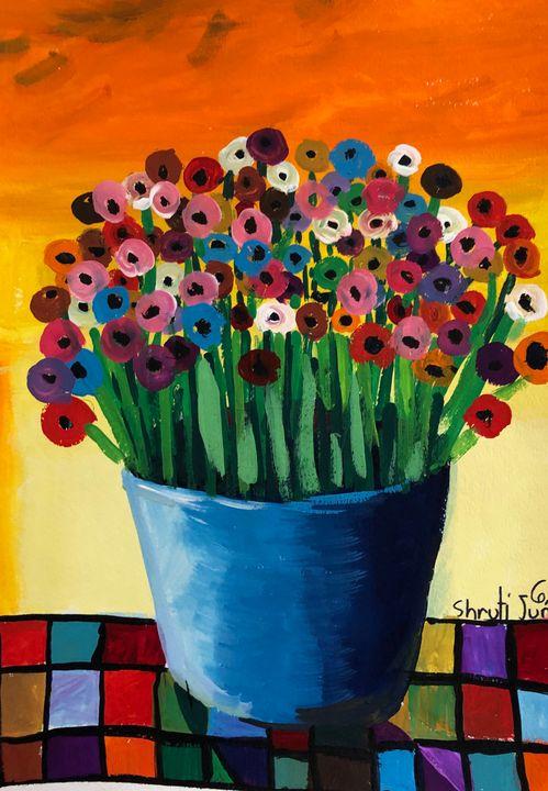 Flower Bouquet - Tinyrainbow