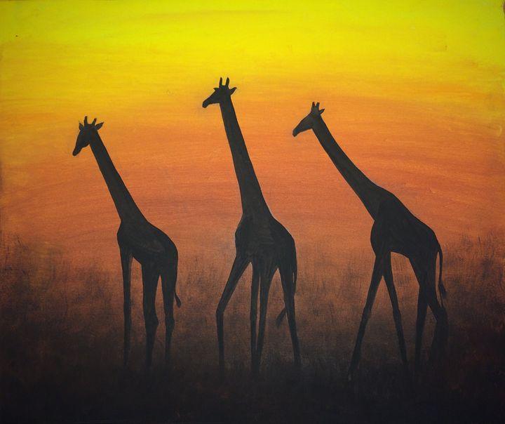 Free Giraffes - Vili's Gallery
