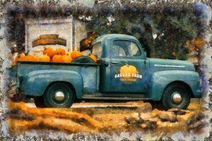 CLASSIC FARM TRUCK - #9288