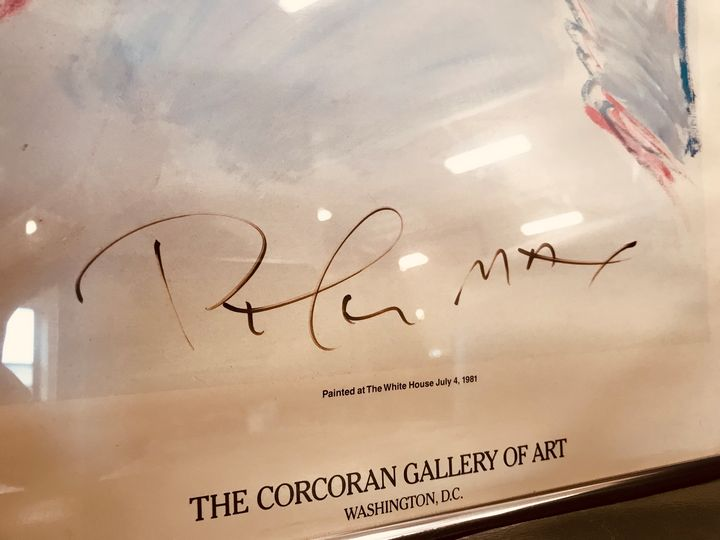 Hand Signed 1981 Peter Max - Uniquely Vintage