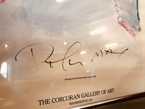 Hand Signed 1981 Peter Max