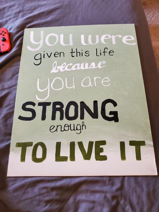 Inspirational quote - Stahler Arts
