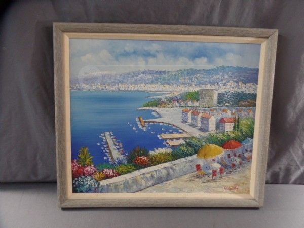 W. Redman Seaside Signed - Monee's Collectables & Heirlooms