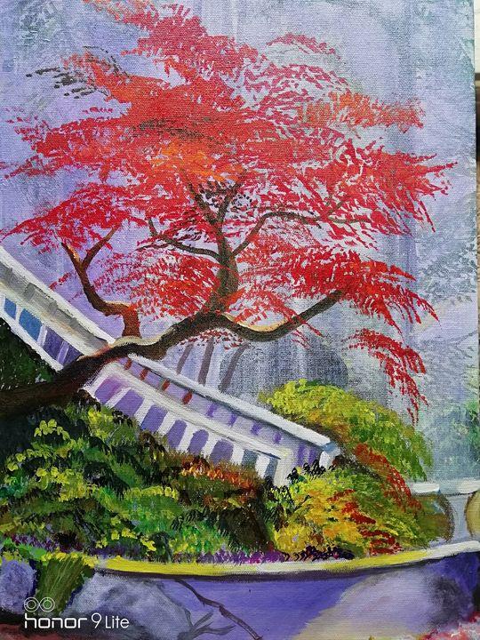 Cherry blossoms trees - Artiste