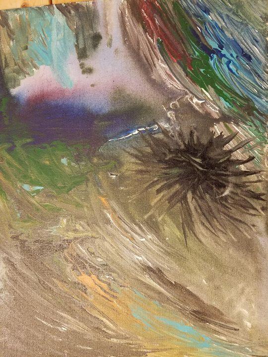 watercolor edge - AbstractArtByLena