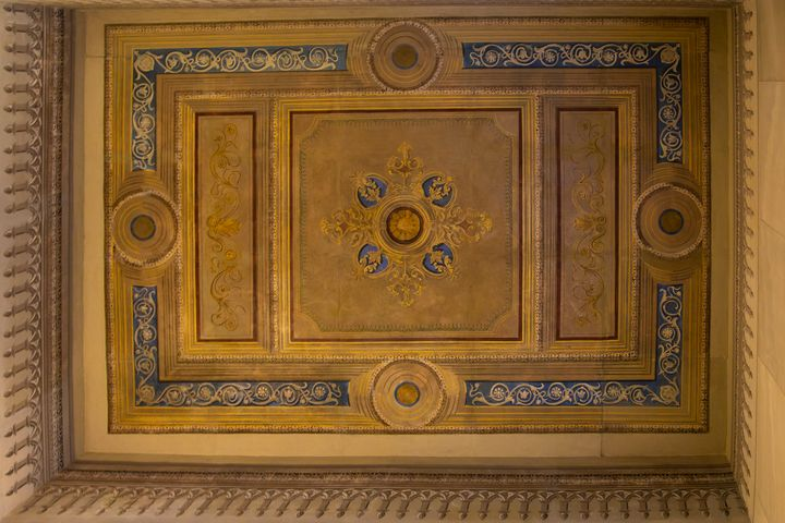 Ceiling Mural dating from 1899 - IC Papachristos, MD