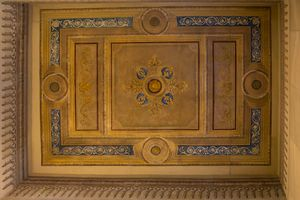 Ceiling Mural dating from 1899