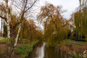 River Dommel in Eindhoven, NL