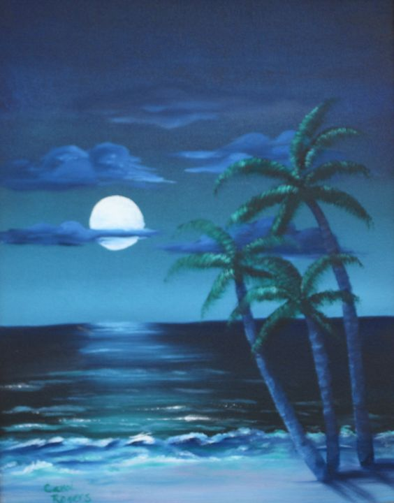 Hawaii Moonlight - Carol Rogers