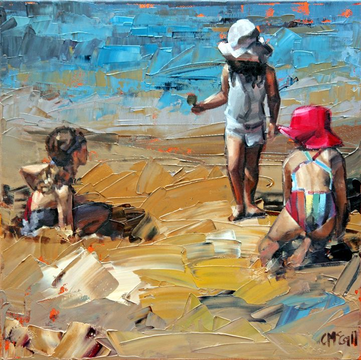 Child's Play - ClaireMcCallArt