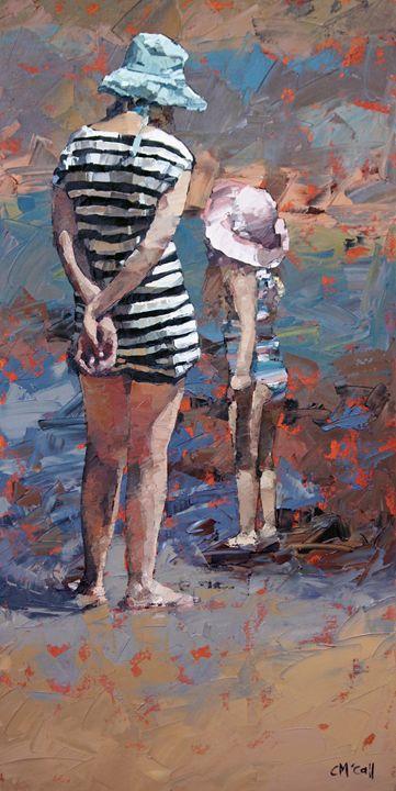 Mother And Daughter III - ClaireMcCallArt