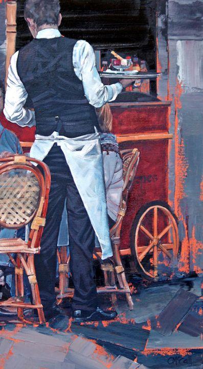 French Waiter II - ClaireMcCallArt