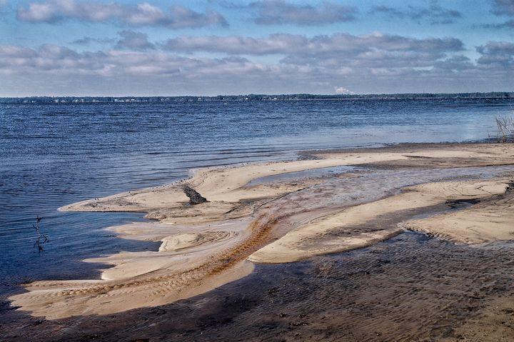 Bayside sandbar - Edgyfotogeek