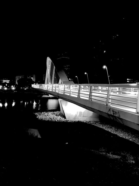 Scioto bridge - Edgyfotogeek