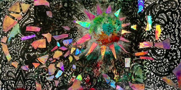 Iridescent Cosmos - Dawning Arts