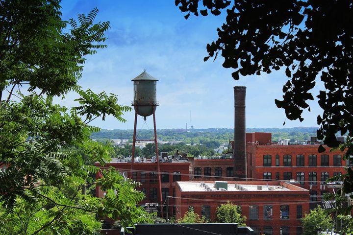 Old Water Tower - Ashley Schwoebel