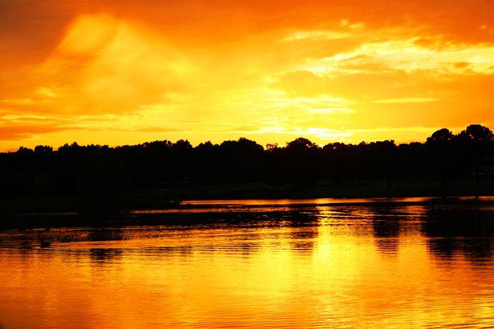 Reflective Sunset - Ashley Schwoebel