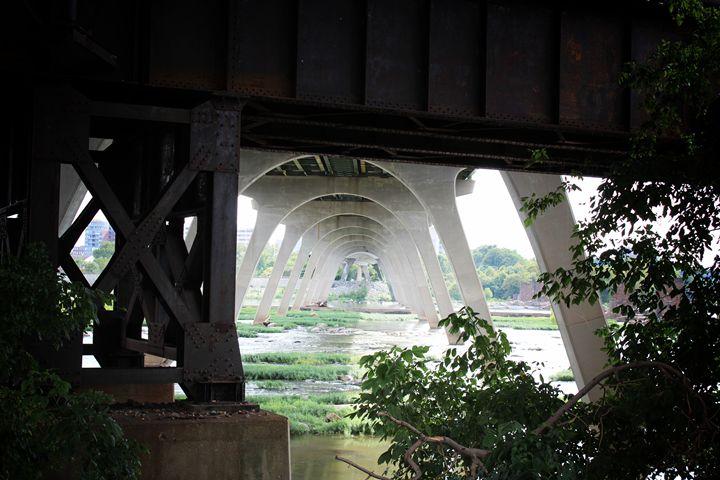 Bridge with Overgrowth - Ashley Schwoebel