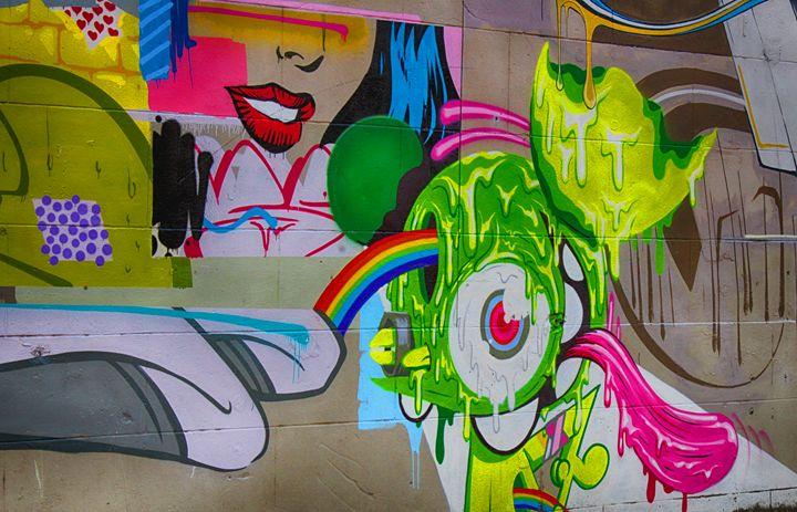 Rainbow Eyeball - Ashley Schwoebel