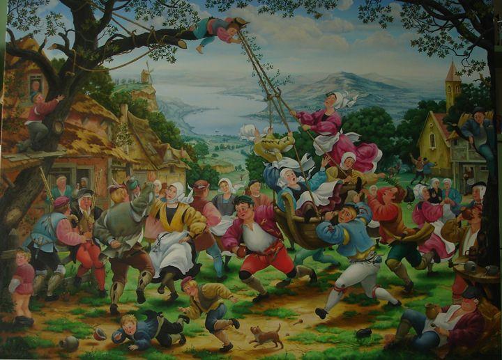 Сельское веселье - mikhalchyk