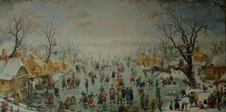Гулянье на льду - mikhalchyk
