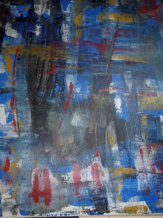 Rain on the midnight train - Katrice Martin Art And Designs